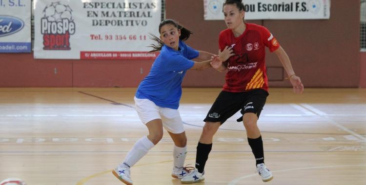 Partit vital pel Femisport-Nou Escorial al Pavelló Nord contra l'Amarelle | Pau Vituri