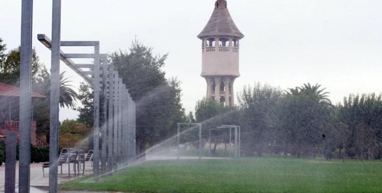Els jardins del Taulí són alguns dels que compten amb reg automàtic/ Ajuntament de Sabadell