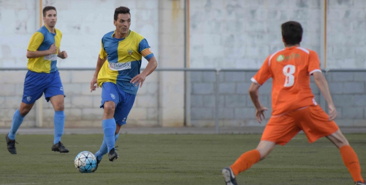 El capità Piñol es perdrà el partit pel trencament muscular que pateix | Roger Benet