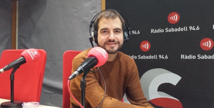 Ricard Ustrell, a Ràdio Sabadell   Pau Duran