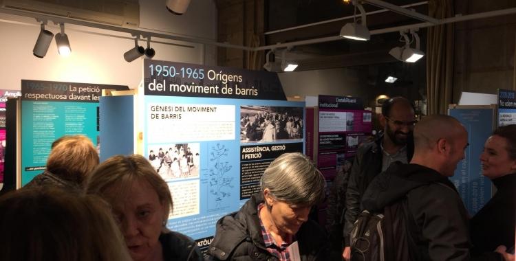Imatge de l'exposició al Casal Pere Quart   Ràdio Sabadell