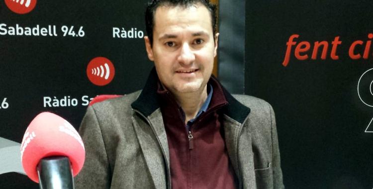 Oscar Lanuza ha parlat del concert d'aquesta nit a Ràdio Sabadell/ Pau Duran