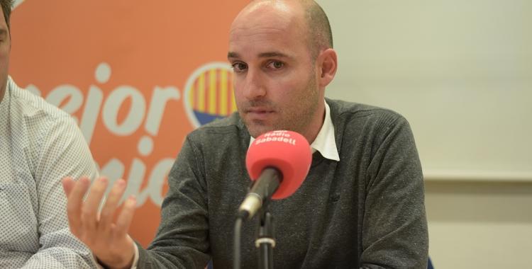 Adrián Hernández, comentant el cas SMATSA   Roger Benet