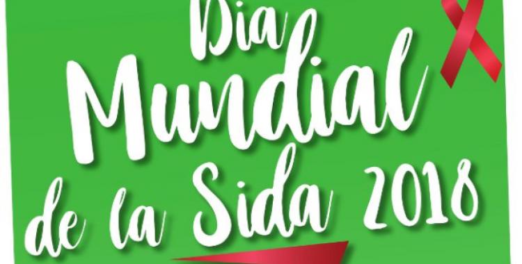 Cartell del Dia Mundial de la sida 2018 | Actua Vallès