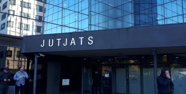 Els Jutjats de Sabadell han acollit avui la segona jornada de declaracions d'investigats en la peça 28/ Arxiu