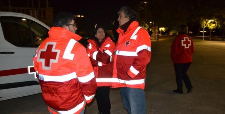 Imatge d'alguns dels efectius de l'Operació Fred 2017 |  Creu Roja Sabadell