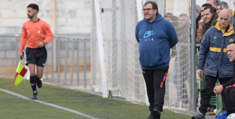 Quico Díaz, content i satisfet amb el rendiment dels seus jugadors | Roger Benet