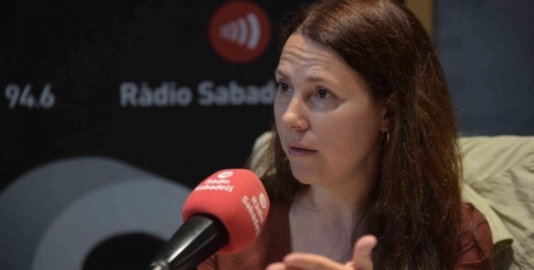 Eva Abellan se suma a la commemoració dels 70 anys de la Declaració dels Drets Humans/ Arxiu Ràdio Sabadell