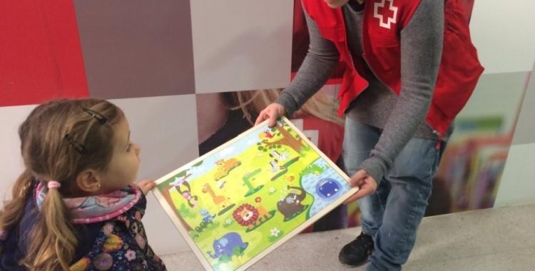 La campanya de recollida de joguines és una de les iniciatives més importants de la Creu Roja/ Cedida