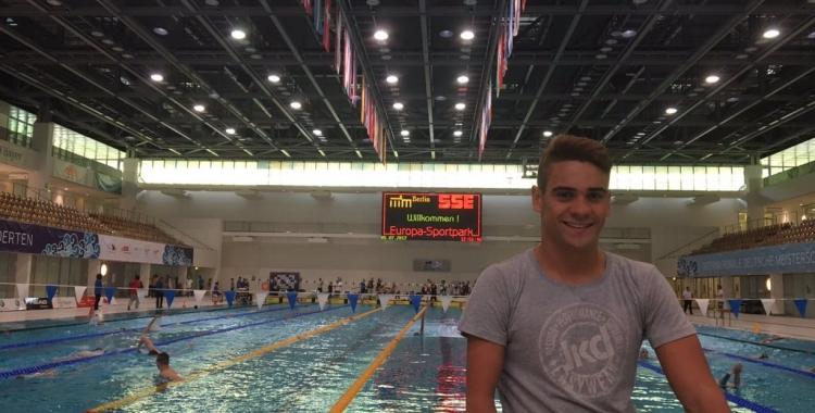 Óscar Salguero vol arribar a Tòquio amb el rècord del món dels 100 braça | Arxiu RS