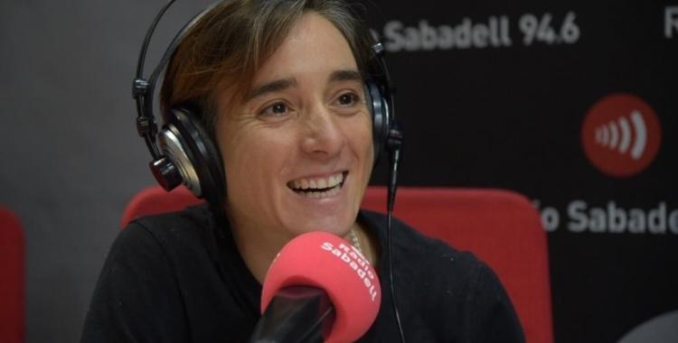 Santanyes, en una imatge d'arxiu a Ràdio Sabadell   Roger Benet