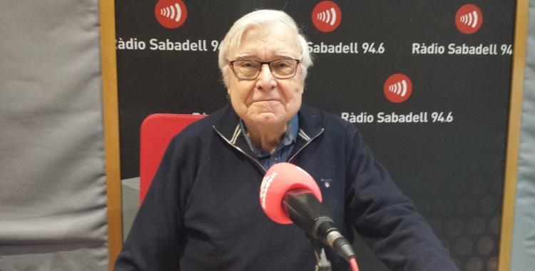 Marc Batlle a Ràdio Sabadell | Pau Duran