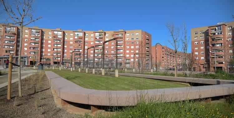 Plaça d'Espanya el dia de la inauguració | Roger Benet