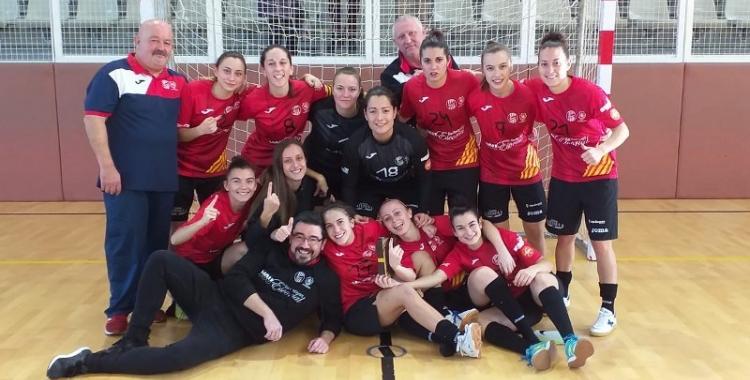 El Femisport-AP Nou Escorial celebra el primer punt de la temporada | @cfsfemisport