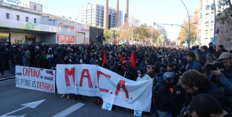 Manifestants a Barcelona | ACN