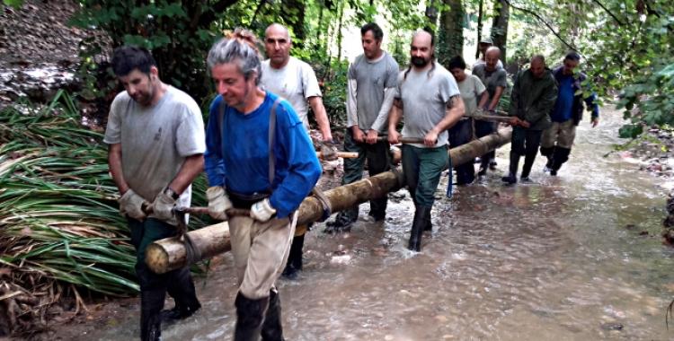 Un equip més s'incorporarà a la neteja del Rodal i l'entorn del Ripoll/ Ajuntament
