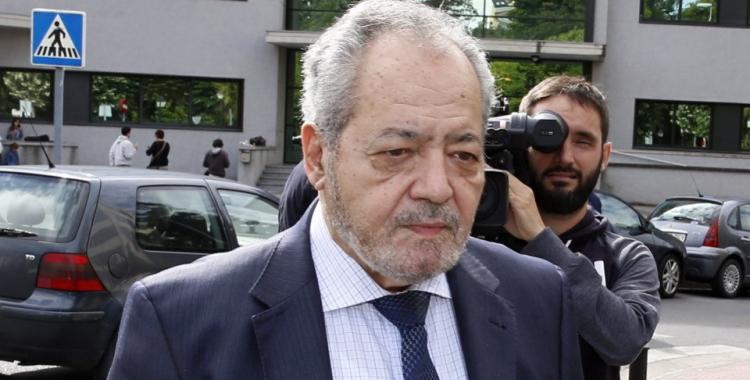 Gervasio Rodríguez entrant als jutjats | Agències