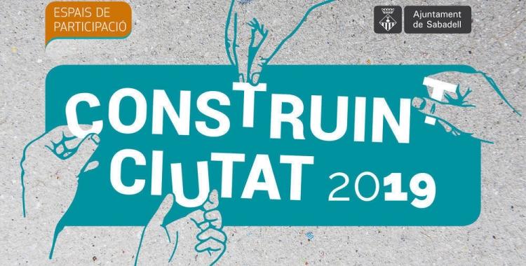Projectes finalistes del programa Construint Ciutat 2019