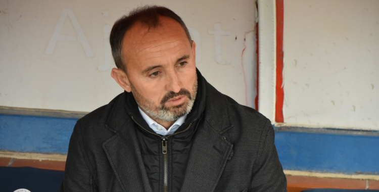 Kiko Ramírez confia en el seu equip per superar la derrota contra el Barça B | Crispulo D.