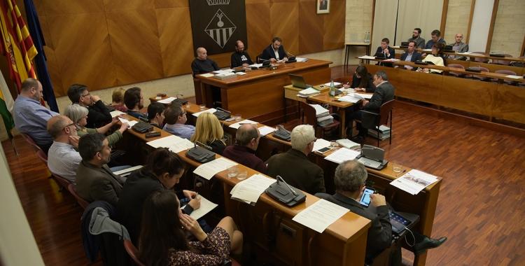 El debat del Taulí ha arribat a la recta final del Ple/ Roger Benet