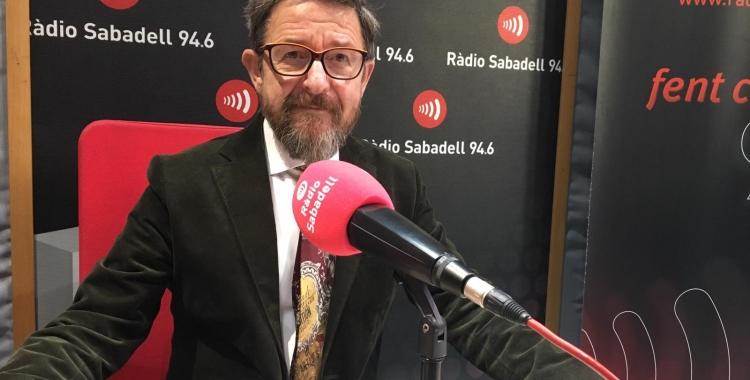 El degà del Col·legi d'Advocats, Manolo Hernández, aquest matí a Ràdio Sabadell  Mireia Sans