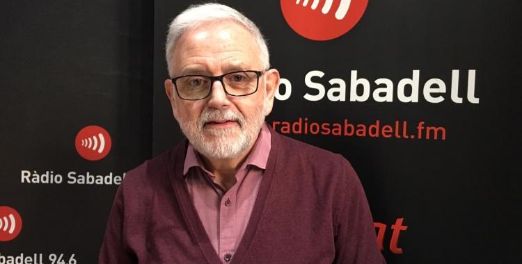 Salvador Obiols aquest matí a Ràdio Sabadell   Mireia Sans