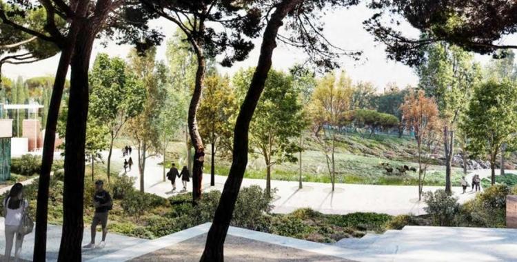 Imatge del futur Parc del Nord| Cedida