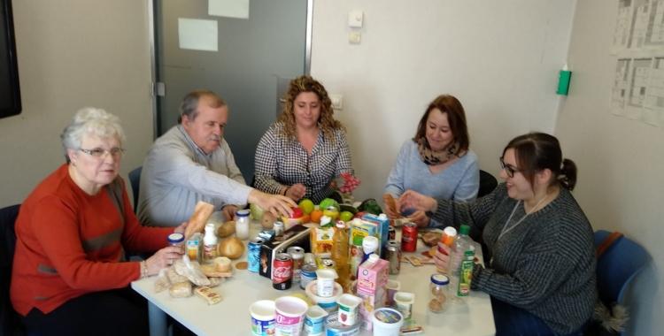Imatge de les sessions que es fan al Taulí per aprendre hàbits de vida saludables | Cedida