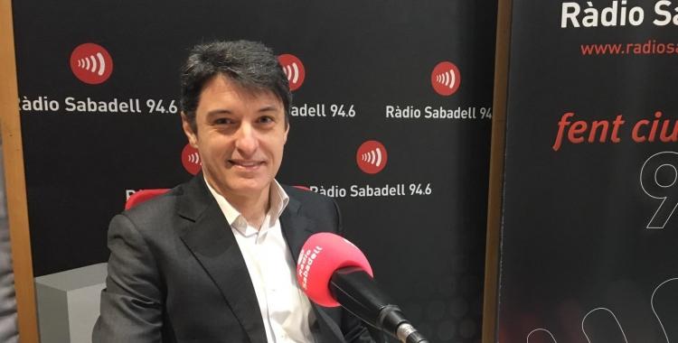 Eduard Borràs a Ràdio Sabadell   Mireia Sans