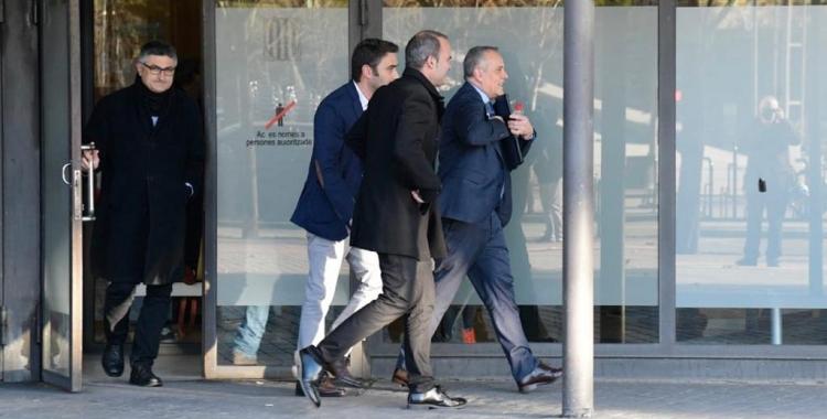 Eugenio Díaz, sortint dels Jutjats de Sabadell/ Lluís Franco