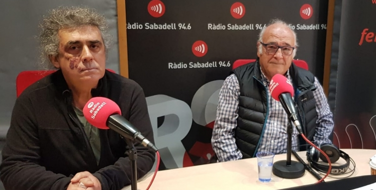 Josep Guasch i Valentí Ladera, de Nous Homes de Sabadell   Pau Duran