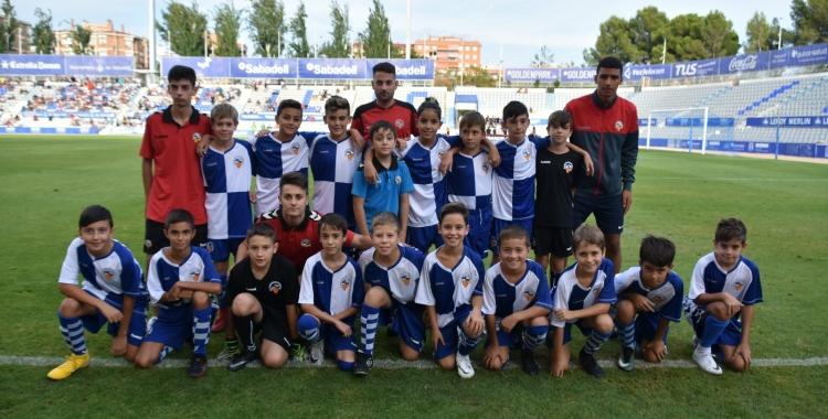 El futbol base arlequinat tornarà a mans del Sabadell | Críspulo Díaz
