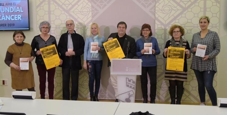 Representats de totes les entitats juntament amb Ramon Vidal | Roger Benet