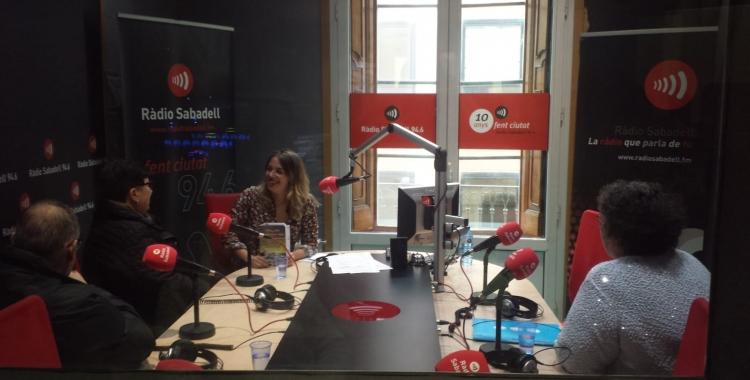 La Isabel, la Maria i el Kike a Ràdio Sabadell   Pau Duran