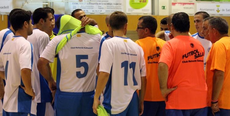 Triomf important del CNS a Segona B de futbol sala | Pau VIturi