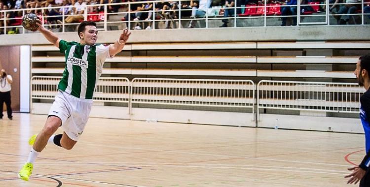 Guillem Correro, un dels millors jugadors de l'OAR en el duel contra La Salle Montcada   OAR Gràcia