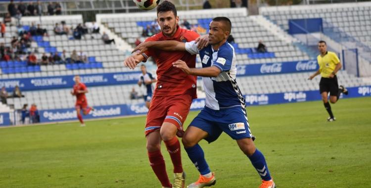 Felipe Sanchón serà una de les baixes pel partit contra l'Espanyol 'B'. | Críspulo Díaz