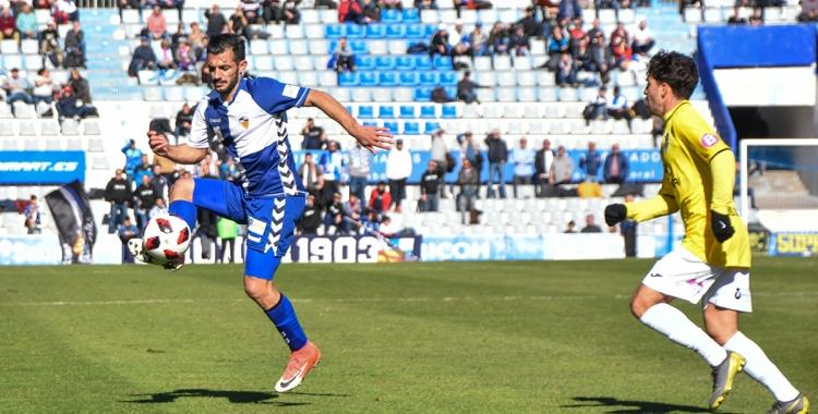 Óscar Rubio va reaparèixer contra el Balears després de dos partits lesionat | Críspulo Díaz
