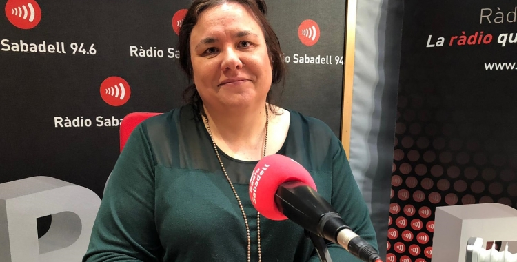 Isabel Garcia (ICAS) a Ràdio Sabadell | Mireia Sans