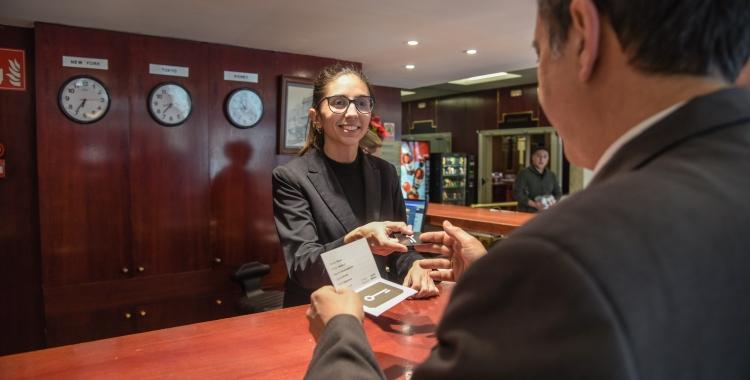 Recepció de l'Hotel Urpí | Roger Benet