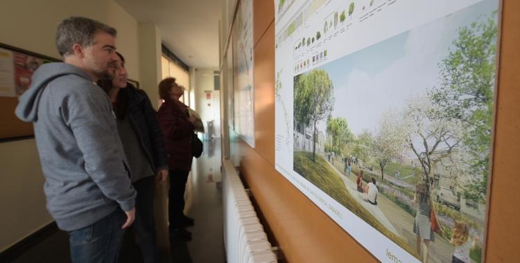 Exposició dels sis projectes finalistes al Centre Cívic de Gràcia | Roger Benet