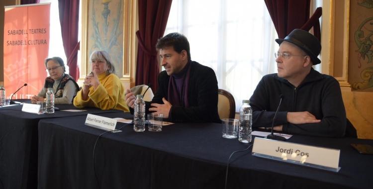 D'esquerra a dreta, Soler, Chacon, Ferrer Flamarich i Jordi Cos, de l'OSV | Roger Benet