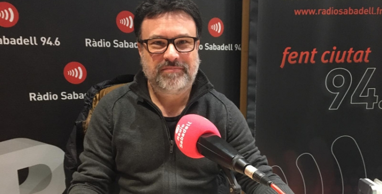 Joan Josep Nuet aquest matí a Ràdio Sabadell | Mireia Sans