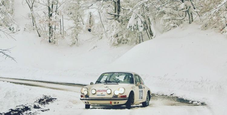 La neu va ser la gran protagonista del ral·li | Sergi Giralt