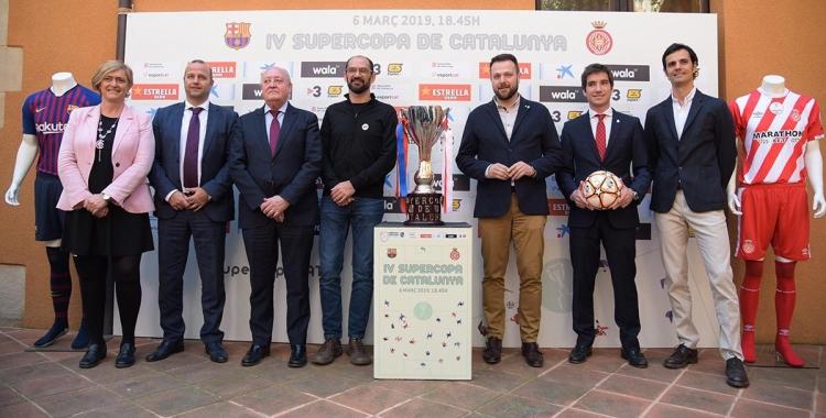 La Casa Duran ha acollit aquest migdia la presentació de la Supercopa de Catalunya. | Roger Benet