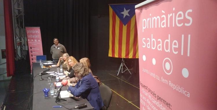 Imatge d'arxiu de les Primàries de Sabadell   Pere Gallifa