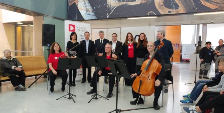 Presentació del programa Música en Vena al Taulí | Pere Gallifa