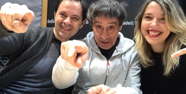 Elías García, Josep Alavedra i Raquel García durant la secció l'Alegria de Viure| Pau Duran