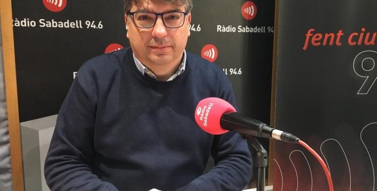 Xavi Martínez a Ràdio Sabadell | Mireia Sans