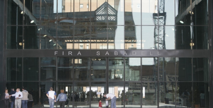 Façana de Fira Sabadell   Cedida